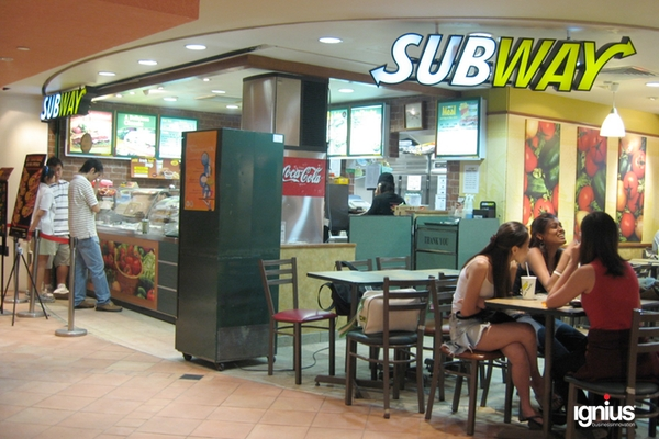 Subway – caso de estudio