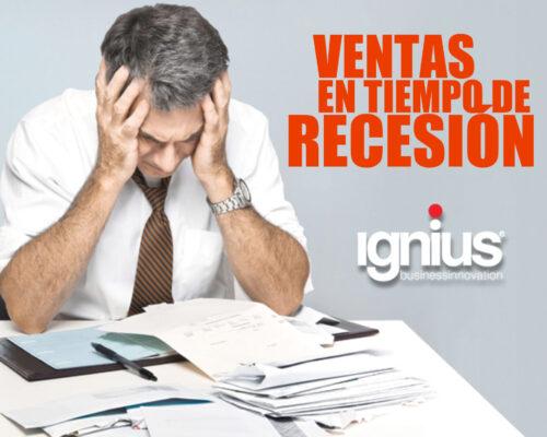 Ventas en tiempo de Recesión