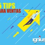 5 Tips para las Ventas